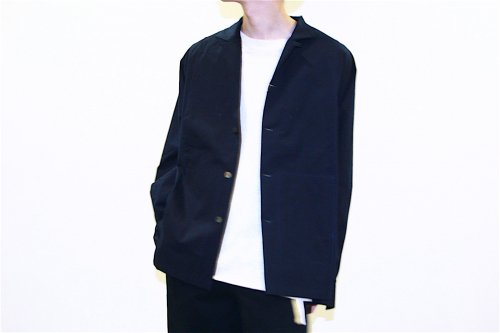 <img class='new_mark_img1' src='//img.shop-pro.jp/img/new/icons47.gif' style='border:none;display:inline;margin:0px;padding:0px;width:auto;' />SAMSARA / OPEN NECKED SHIRT(NAVY)