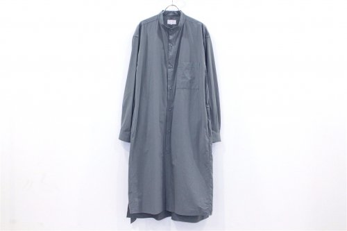<img class='new_mark_img1' src='//img.shop-pro.jp/img/new/icons47.gif' style='border:none;display:inline;margin:0px;padding:0px;width:auto;' />ATELIER BÉTON / NIGHT LONG SHIRT(BLUE GRAY)