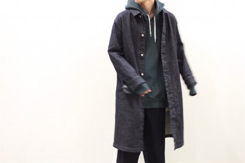 <img class='new_mark_img1' src='//img.shop-pro.jp/img/new/icons2.gif' style='border:none;display:inline;margin:0px;padding:0px;width:auto;' />esgrey / denim coat(BLUE)