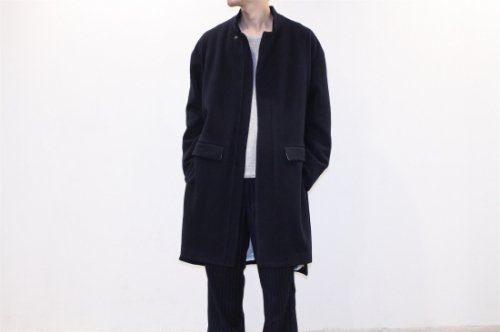 <img class='new_mark_img1' src='//img.shop-pro.jp/img/new/icons2.gif' style='border:none;display:inline;margin:0px;padding:0px;width:auto;' />THEE / M-51 gown coat(NAVY)