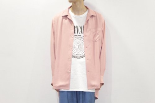 <img class='new_mark_img1' src='//img.shop-pro.jp/img/new/icons47.gif' style='border:none;display:inline;margin:0px;padding:0px;width:auto;' />THEE / open collar shirts(PINK)