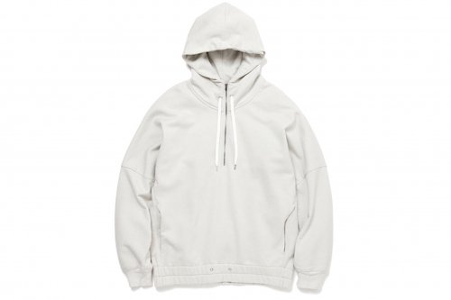 <img class='new_mark_img1' src='//img.shop-pro.jp/img/new/icons20.gif' style='border:none;display:inline;margin:0px;padding:0px;width:auto;' />ATELIER BÉTON / HOODED ZIP SWEATSHIRT(CHALK WHITE)