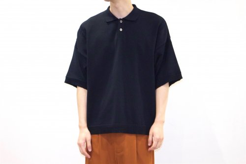 <img class='new_mark_img1' src='https://img.shop-pro.jp/img/new/icons47.gif' style='border:none;display:inline;margin:0px;padding:0px;width:auto;' />YASHIKI /Mikage Knit Polo(D.NAVY)