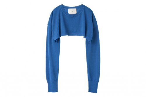<img class='new_mark_img1' src='//img.shop-pro.jp/img/new/icons34.gif' style='border:none;display:inline;margin:0px;padding:0px;width:auto;' />TAN / SHEER COTTON BOLERO(BLUE)