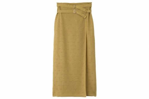<img class='new_mark_img1' src='https://img.shop-pro.jp/img/new/icons47.gif' style='border:none;display:inline;margin:0px;padding:0px;width:auto;' />TAN / DOTS TULLE SKIRT(MUSTARD)