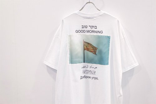 <img class='new_mark_img1' src='https://img.shop-pro.jp/img/new/icons47.gif' style='border:none;display:inline;margin:0px;padding:0px;width:auto;' />Children of the discordance / GOOD MORNING TEE(WHITE)