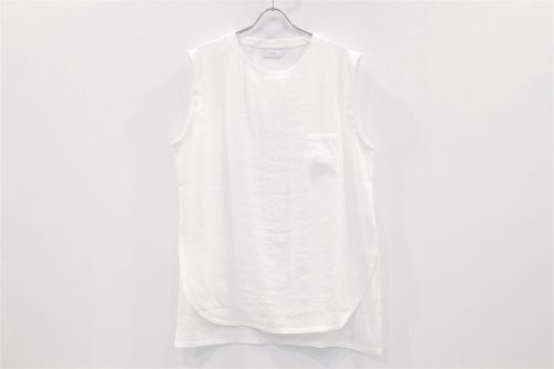 <img class='new_mark_img1' src='https://img.shop-pro.jp/img/new/icons47.gif' style='border:none;display:inline;margin:0px;padding:0px;width:auto;' />THEE / LINEN LONG N/S TEE(WHITE)