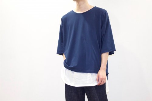 <img class='new_mark_img1' src='https://img.shop-pro.jp/img/new/icons47.gif' style='border:none;display:inline;margin:0px;padding:0px;width:auto;' />house of the very island's... / OVERSIZE TEE(NAVY)