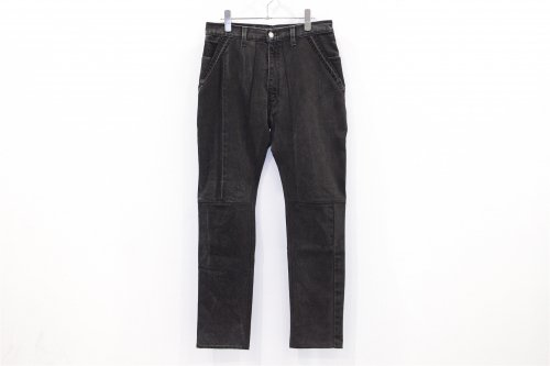 <img class='new_mark_img1' src='//img.shop-pro.jp/img/new/icons41.gif' style='border:none;display:inline;margin:0px;padding:0px;width:auto;' />The Attractman / PATCH WORK DENIM(BLACK)