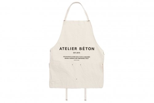 <img class='new_mark_img1' src='//img.shop-pro.jp/img/new/icons47.gif' style='border:none;display:inline;margin:0px;padding:0px;width:auto;' />ATELIER BÉTON / CANVAS LONG APRON(BETON)