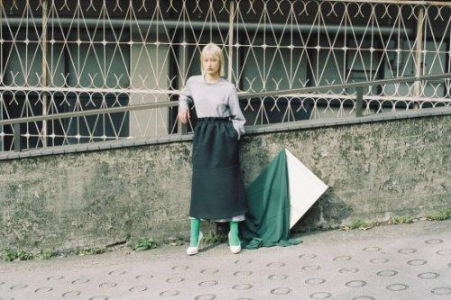 <img class='new_mark_img1' src='https://img.shop-pro.jp/img/new/icons47.gif' style='border:none;display:inline;margin:0px;padding:0px;width:auto;' />Natsumi Zama / Mona Lisa Skirt(BLACK)