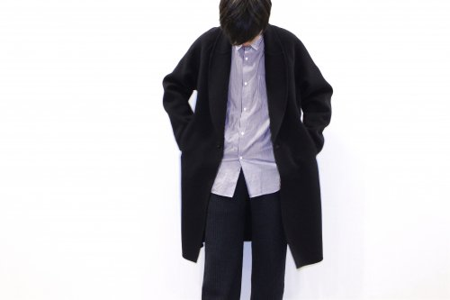 <img class='new_mark_img1' src='//img.shop-pro.jp/img/new/icons2.gif' style='border:none;display:inline;margin:0px;padding:0px;width:auto;' />ATELIER BÉTON / MORNING COAT(BLACK NAVY)