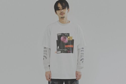 <img class='new_mark_img1' src='//img.shop-pro.jp/img/new/icons47.gif' style='border:none;display:inline;margin:0px;padding:0px;width:auto;' />Children of the discordance /Vintage Flower Print Tee(WHITE)