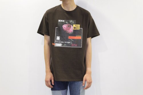 <img class='new_mark_img1' src='//img.shop-pro.jp/img/new/icons2.gif' style='border:none;display:inline;margin:0px;padding:0px;width:auto;' />Children of the discordance /Vintage Flower Print Tee(BROWN)