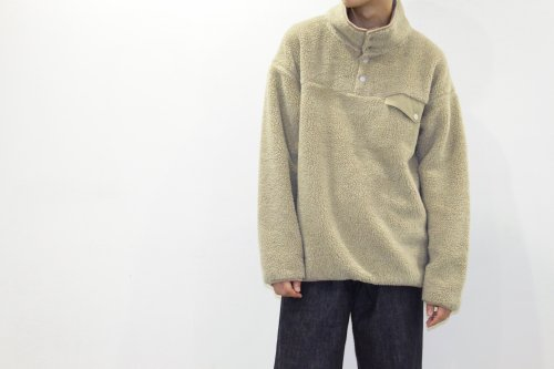 <img class='new_mark_img1' src='https://img.shop-pro.jp/img/new/icons47.gif' style='border:none;display:inline;margin:0px;padding:0px;width:auto;' />esgrey / boa pullover jacket(CAMEL)
