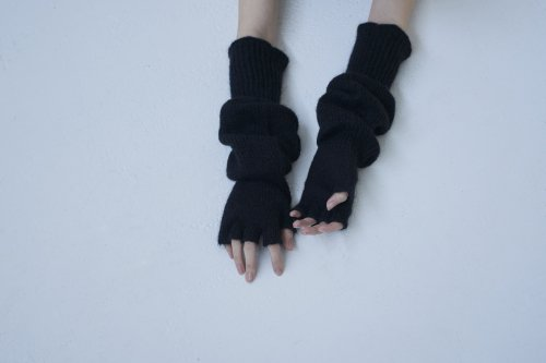<img class='new_mark_img1' src='//img.shop-pro.jp/img/new/icons20.gif' style='border:none;display:inline;margin:0px;padding:0px;width:auto;' />TAN / FINGERLESS GLOVES(BLACK)