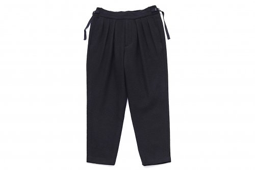 <img class='new_mark_img1' src='https://img.shop-pro.jp/img/new/icons47.gif' style='border:none;display:inline;margin:0px;padding:0px;width:auto;' />SAYATOMO /Hakama Wool Pants(BLACK)
