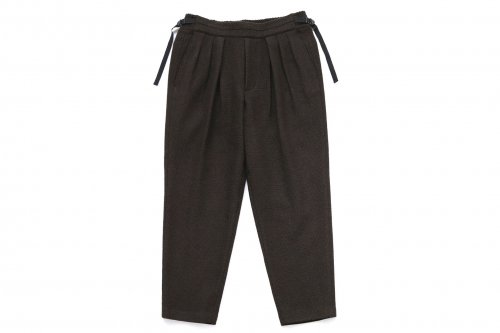 <img class='new_mark_img1' src='https://img.shop-pro.jp/img/new/icons47.gif' style='border:none;display:inline;margin:0px;padding:0px;width:auto;' />SAYATOMO /Hakama Wool Pants(BROWN)