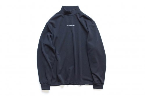 <img class='new_mark_img1' src='https://img.shop-pro.jp/img/new/icons47.gif' style='border:none;display:inline;margin:0px;padding:0px;width:auto;' />stein / OVERSIZED HIGH NECK LS(D.NAVY)