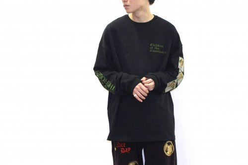 <img class='new_mark_img1' src='https://img.shop-pro.jp/img/new/icons47.gif' style='border:none;display:inline;margin:0px;padding:0px;width:auto;' />Children of the discordance /SASTR ROSE EMBROIDERY PO(BLACK)