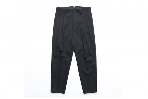<img class='new_mark_img1' src='https://img.shop-pro.jp/img/new/icons47.gif' style='border:none;display:inline;margin:0px;padding:0px;width:auto;' />stein / TWO TUCK WIDE TROUSERS(BLACK)