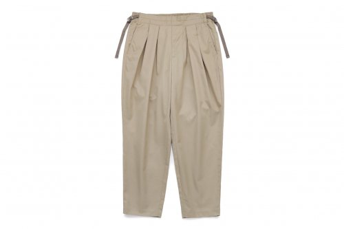 <img class='new_mark_img1' src='https://img.shop-pro.jp/img/new/icons47.gif' style='border:none;display:inline;margin:0px;padding:0px;width:auto;' />SAYATOMO /Karusan Twill Pants(BEIGE)
