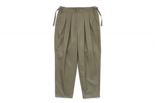 <img class='new_mark_img1' src='https://img.shop-pro.jp/img/new/icons47.gif' style='border:none;display:inline;margin:0px;padding:0px;width:auto;' />SAYATOMO /Karusan Twill Pants(KHAKI)