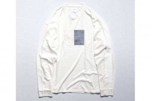 <img class='new_mark_img1' src='//img.shop-pro.jp/img/new/icons47.gif' style='border:none;display:inline;margin:0px;padding:0px;width:auto;' />stein / OVERSIZED LONG SLEEVE TEE(WHITE)