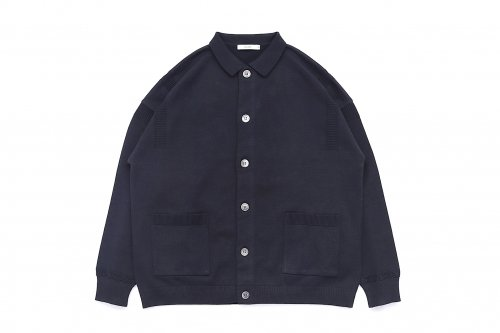 <img class='new_mark_img1' src='https://img.shop-pro.jp/img/new/icons47.gif' style='border:none;display:inline;margin:0px;padding:0px;width:auto;' />YASHIKI / Oboro Collar Cardigan(BLACK)