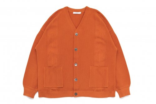 <img class='new_mark_img1' src='//img.shop-pro.jp/img/new/icons47.gif' style='border:none;display:inline;margin:0px;padding:0px;width:auto;' />YASHIKI / Konome Cardigan(ORANGE)