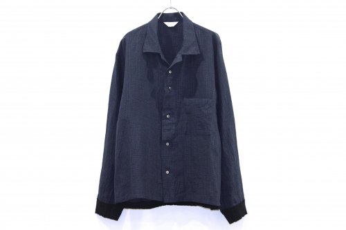 <img class='new_mark_img1' src='//img.shop-pro.jp/img/new/icons47.gif' style='border:none;display:inline;margin:0px;padding:0px;width:auto;' />THEE / rib shirts jacket.(NAVY GLEN CHECK)