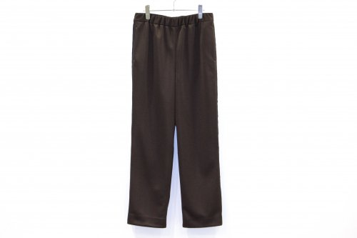 <img class='new_mark_img1' src='https://img.shop-pro.jp/img/new/icons47.gif' style='border:none;display:inline;margin:0px;padding:0px;width:auto;' />THEE / easy line pants.(BROWN)