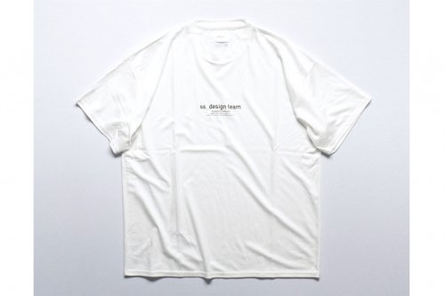 <img class='new_mark_img1' src='https://img.shop-pro.jp/img/new/icons47.gif' style='border:none;display:inline;margin:0px;padding:0px;width:auto;' />stein / PRINT TEE - DESIGN TEAM -(WHITE)