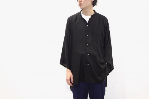 <img class='new_mark_img1' src='//img.shop-pro.jp/img/new/icons47.gif' style='border:none;display:inline;margin:0px;padding:0px;width:auto;' />THEE / Kimono sleeve shirts.(BLACK)