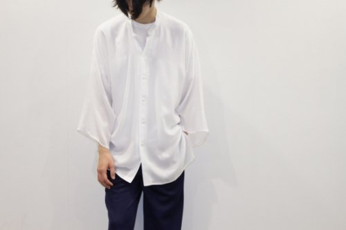 <img class='new_mark_img1' src='//img.shop-pro.jp/img/new/icons2.gif' style='border:none;display:inline;margin:0px;padding:0px;width:auto;' />THEE / Kimono sleeve shirts.(WHITE)