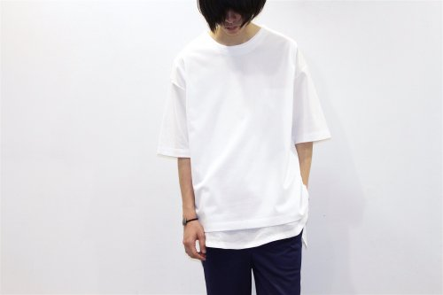 <img class='new_mark_img1' src='//img.shop-pro.jp/img/new/icons2.gif' style='border:none;display:inline;margin:0px;padding:0px;width:auto;' />THEE / oversize kanoko tee(WHITE)