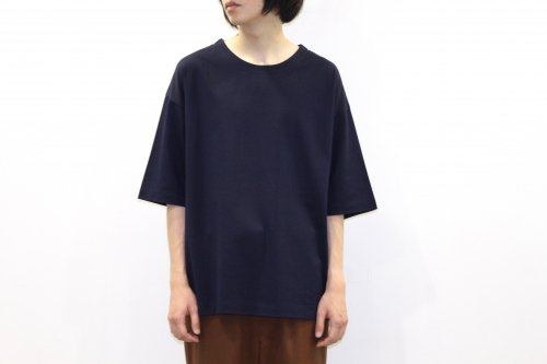 <img class='new_mark_img1' src='https://img.shop-pro.jp/img/new/icons47.gif' style='border:none;display:inline;margin:0px;padding:0px;width:auto;' />THEE / oversize kanoko tee(NAVY)