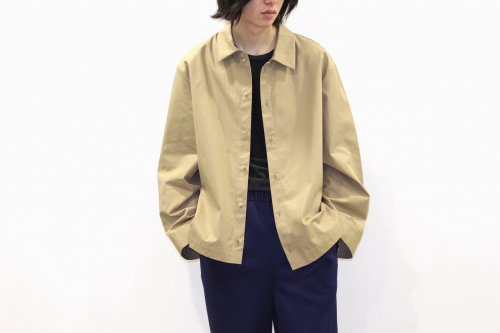 <img class='new_mark_img1' src='//img.shop-pro.jp/img/new/icons47.gif' style='border:none;display:inline;margin:0px;padding:0px;width:auto;' />VOAAOV / BIG SHIRT BLOUSON(BEIGE)