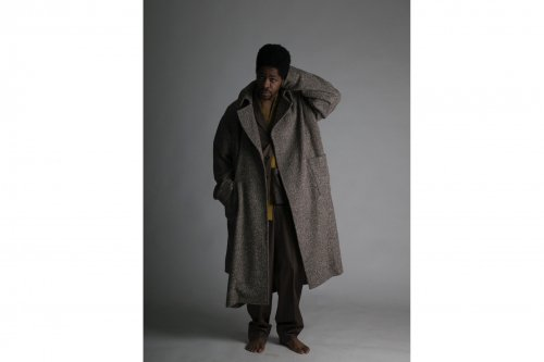 <img class='new_mark_img1' src='https://img.shop-pro.jp/img/new/icons47.gif' style='border:none;display:inline;margin:0px;padding:0px;width:auto;' />ATHA / NEP TWEED MAXI COAT(BROWN)