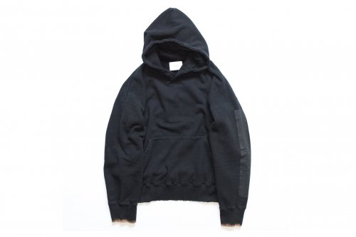 <img class='new_mark_img1' src='https://img.shop-pro.jp/img/new/icons47.gif' style='border:none;display:inline;margin:0px;padding:0px;width:auto;' />stein / OVERSIZED REBUILD SWEAT HOODED(BLACK)