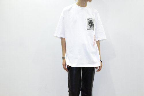 <img class='new_mark_img1' src='//img.shop-pro.jp/img/new/icons47.gif' style='border:none;display:inline;margin:0px;padding:0px;width:auto;' />Children of the discordance /EMBROIDERY TEE(WHITE)