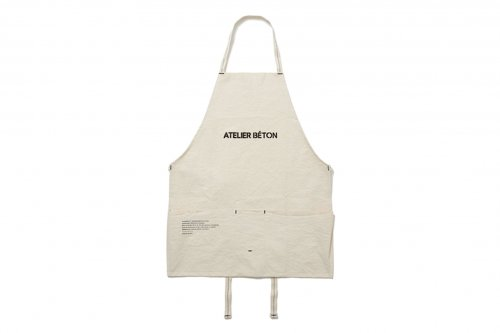 <img class='new_mark_img1' src='//img.shop-pro.jp/img/new/icons47.gif' style='border:none;display:inline;margin:0px;padding:0px;width:auto;' />ATELIER BÉTON / STENCIL CANVAS APRON(ATELIER BÉTON)