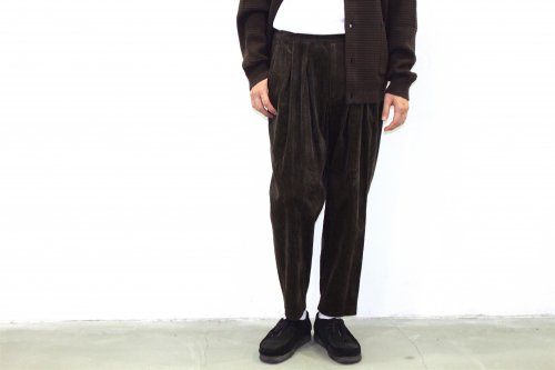 <img class='new_mark_img1' src='//img.shop-pro.jp/img/new/icons2.gif' style='border:none;display:inline;margin:0px;padding:0px;width:auto;' />SAYATOMO /Karusan Corduroy Pants(BROWN)