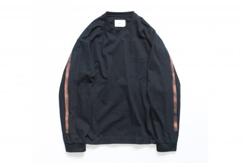 <img class='new_mark_img1' src='https://img.shop-pro.jp/img/new/icons47.gif' style='border:none;display:inline;margin:0px;padding:0px;width:auto;' />stein / OVERSIZED LONG SLEEVE TEE(BLACK)