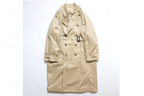 <img class='new_mark_img1' src='https://img.shop-pro.jp/img/new/icons47.gif' style='border:none;display:inline;margin:0px;padding:0px;width:auto;' />stein / LAY OVERSIZED OVERLAP COAT(BEIGE)