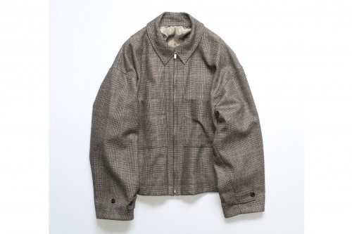 <img class='new_mark_img1' src='https://img.shop-pro.jp/img/new/icons47.gif' style='border:none;display:inline;margin:0px;padding:0px;width:auto;' />stein / OVER SLEEVE DRIZZLER JACKET(WINDOW PEN)