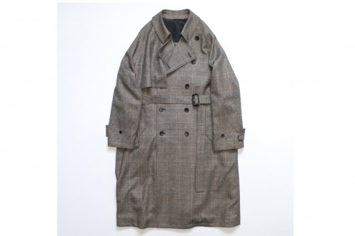 <img class='new_mark_img1' src='https://img.shop-pro.jp/img/new/icons47.gif' style='border:none;display:inline;margin:0px;padding:0px;width:auto;' />stein / LAY OVERSIZED OVERLAP COAT(WINDOW PEN)