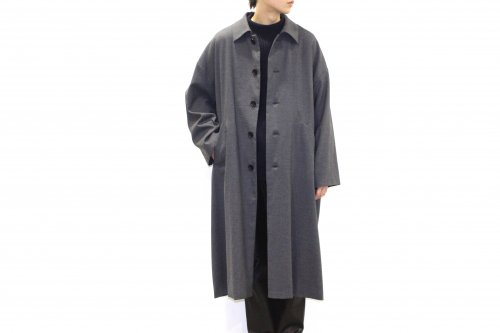 <img class='new_mark_img1' src='https://img.shop-pro.jp/img/new/icons47.gif' style='border:none;display:inline;margin:0px;padding:0px;width:auto;' />VOAAOV / WOOL OVERSIZE COAT(GREY)