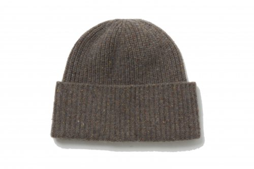 <img class='new_mark_img1' src='https://img.shop-pro.jp/img/new/icons47.gif' style='border:none;display:inline;margin:0px;padding:0px;width:auto;' />ATELIER BÉTON /SILK NEP KNIT CAP(DUST MOCHA)