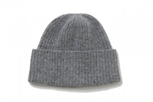 <img class='new_mark_img1' src='//img.shop-pro.jp/img/new/icons2.gif' style='border:none;display:inline;margin:0px;padding:0px;width:auto;' />ATELIER BÉTON /SILK NEP KNIT CAP(DUST GRAY)